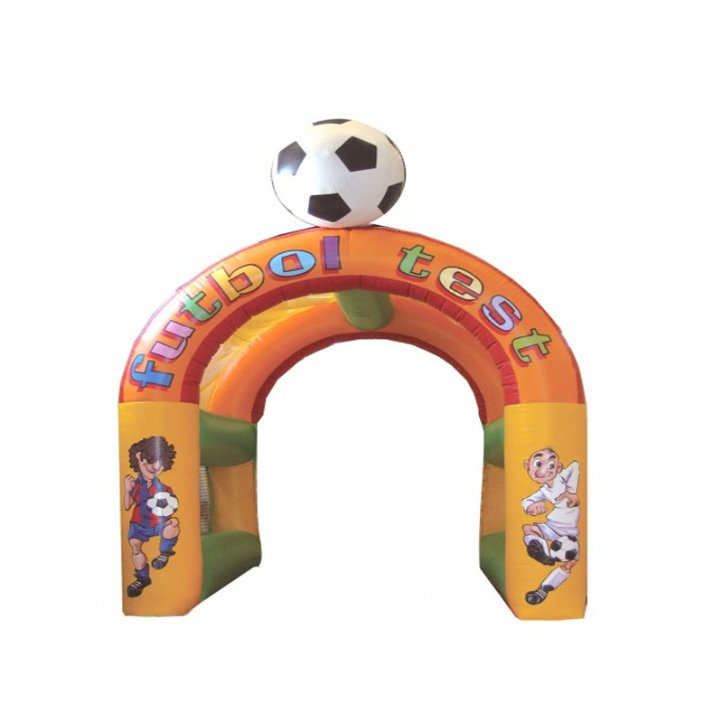 Arco hinchable futbol kids