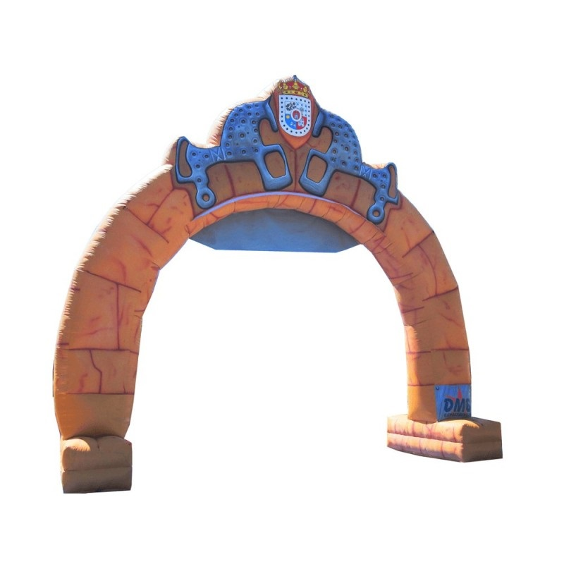 Arco decorativo inchable piedra