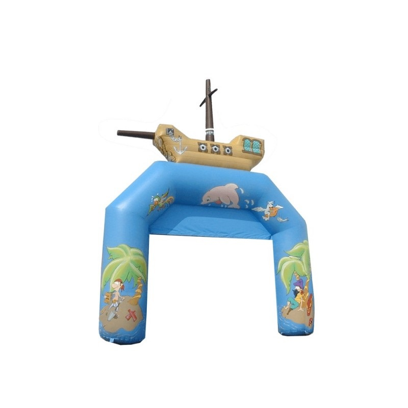 Arco hinchable piratas del caribe